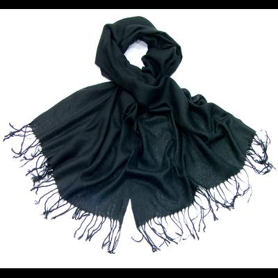 Etole noir pashmina