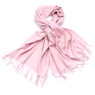 Etole rose en pure laine