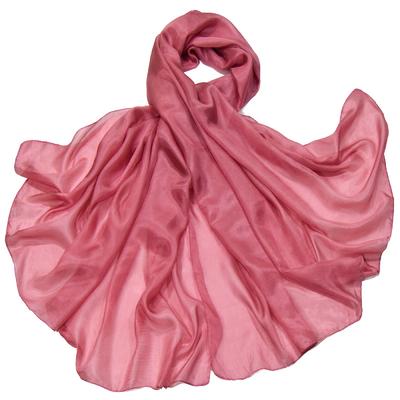 Etole en soie rose indien premium