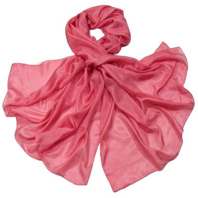 Etole en soie rose premium