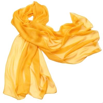 Etole orange doux mousseline de soie premium