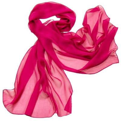 Etole rose framboise mousseline de soie premium
