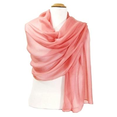 Etole rose indien mousseline de soie premium