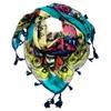 foulard-en-soie-papillons-vert-2-min