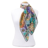 foulard carré de soie mauve lorine 2-min