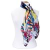 foulard carré de soie bleu optili 2-min