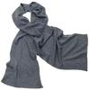 écharpe en cachemire gris foncé 1-min