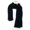 écharpe en cachemire noir 3-min