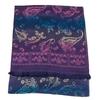 étole pashmina violet dégradé multicolore 3-min