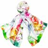 foulard en soie rouge aquarelle  3