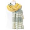 foulard kaki jaune or 3