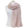 foulard taupe rosé paillettes 2
