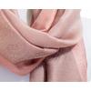 étole pashmina rose saumon rayures 4