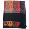 étole noir pashmina motifs 1