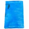 étole en soie bleu romane 1