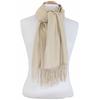 étole beige cachemire laine charlie 3