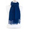 étole bleu marine cachemire laine charlie 3