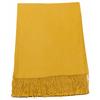 étole jaune cachemire laine charlie 1
