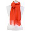 étole orange cachemire laine charlie 3