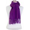 étole violet cachemire laine charlie 3