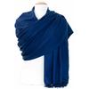 étole bleu marine cachemire laine charlie 5