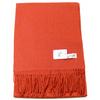 étole laine orange pastel 1