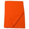 étole orange laine fine 1