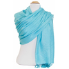 étole bleu turquoise pashmina sacha 2
