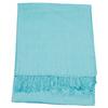 étole bleu turquoise pashmina sacha 1