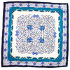carré de soie bleu louise 1