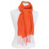 étole foulard orange soie fine Alex 4