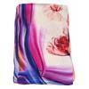 foulard écharpe soie rose tulipes 2