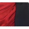 étole pashmina noir rouge réversible 5