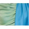 Etole bleu turquoise vert  pashmina réversible 4
