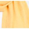 écharpe en cachemire jaune 2