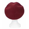 beret rouge bordeaux cachemire 2