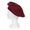 beret rouge bordeaux cachemire 1