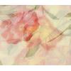 foulard mousseline de soie jaune fleurs 2