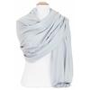 étole bleu gris femme cachemire laine 2