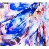 étole mariage bleu ibiscus léa