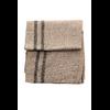 étole laine fine avec rayures beige ETLFR-FAN 02 2