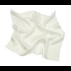 foulard en soie blanc uni petit CSPP-FAN-24 1