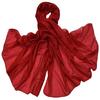 etole en soie rouge ETSU-FAN 01 1