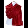 etole en soie rouge ETSU-FAN 01 2