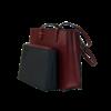 sac cabas cuir bordeaux SAC-FAN 163420 2  5