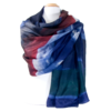 Etole en soie bleu tie and dye ETL-FAN 73 3