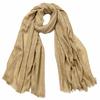 foulard cheche homme beige carreaux