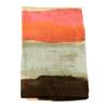 etole en soie tie and dye pêche 3