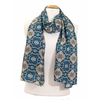foulard cheche homme bleu turquoise chambord 2