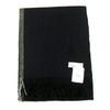 echarpe laine tissee noir rayure 1-min